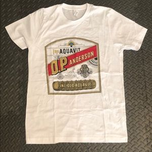 O.P. Anderson T-shirt NWOT